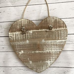Wooden ❤️ Heart Decor